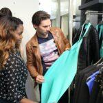 Promi Shopping Queen - Oti Mabuse und Marius lepure beim Shoppen