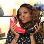 Promi Shopping Queen - Oti Mabuse mit tollen Schuhen