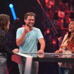 Risky Quiz - Jeannine Michaelsen mit Tobias und Saskia
