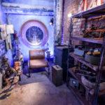 Promi Big Brother 2016 Haus - Das Sprechzimmer in der Kanalisation