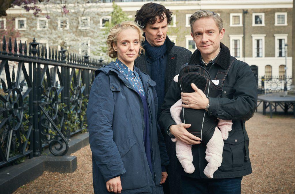 Eine Videobotschaft lässt Sherlock (Benedict Cumberbatch) an Moriartys Tod zweifeln