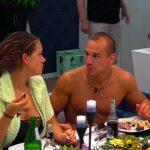 Promi Big Brother 2016 Tag 2 - Jessica und Frank beim Essen