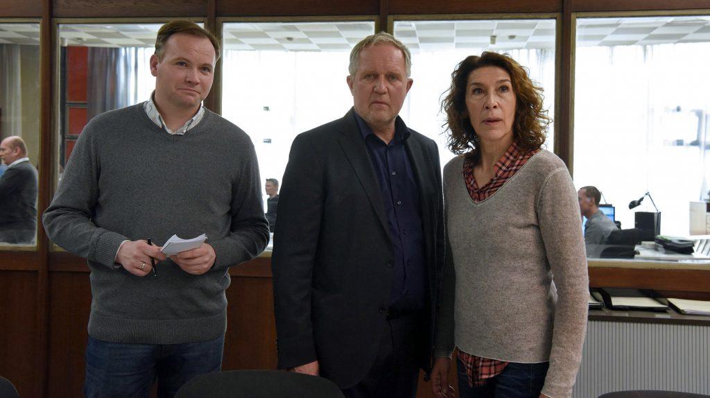 Bibi Fellner (Adele Neuhauser, re.), Moritz Eisner (Harald Krassnitzer) und Kollege Manfred (Thomas Stipsits, li.) bekommen es mit einer rätselhaften Mordserie zu tun.
